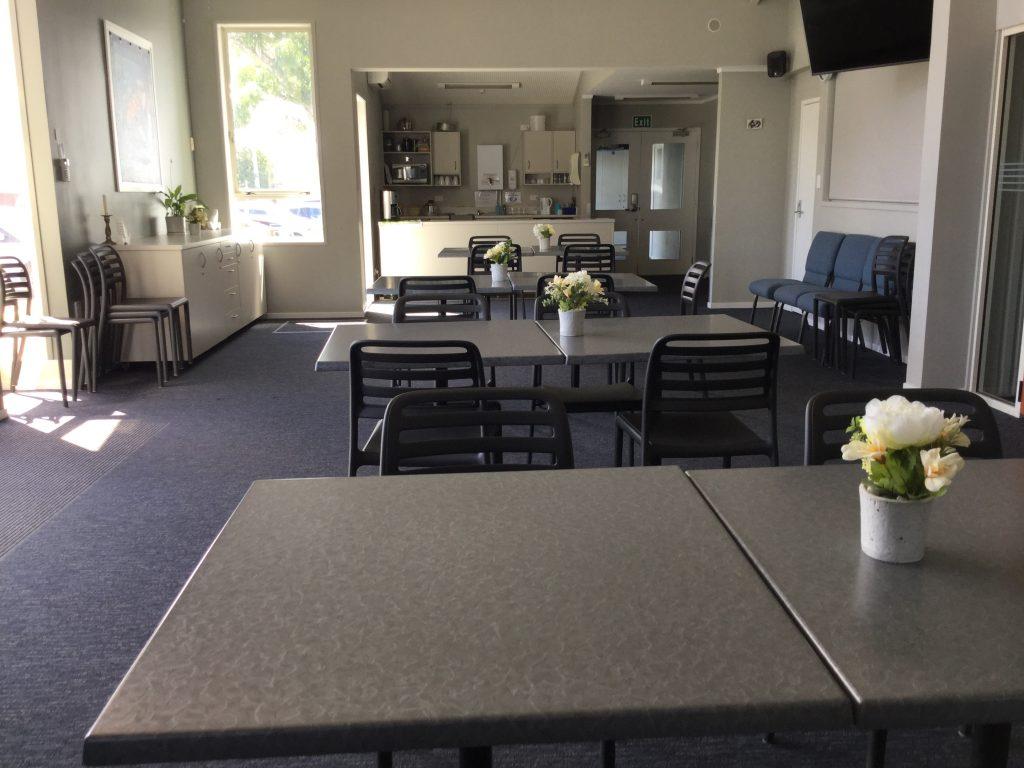 Venue hire cafeteria